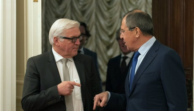 Lavrov, Steinmeier discuss situation in Donbas