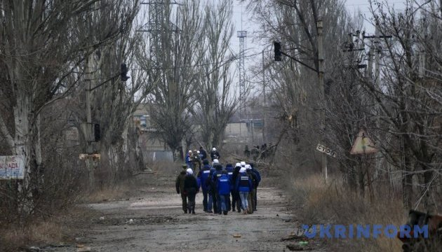 OSCE recorded 174 ceasefire violations in Donbas over past weekend