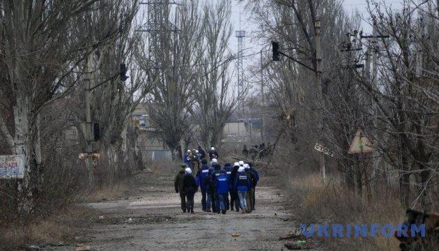 OSCE records decrease in ceasefire violations in Donbas