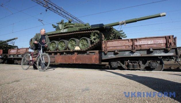 РФ активно поставляет на Донбасс оружие и боеприпасы по железной дороге