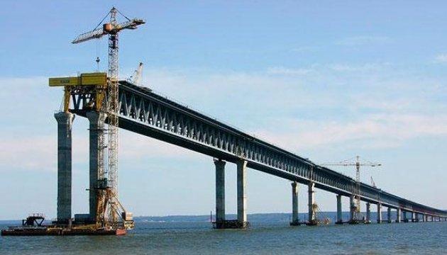 РФ не гарантує безпеку Керченського мосту — здачу ділянки переносять