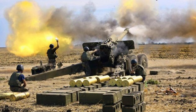 Militants launch 72 attacks on ATO troops in eastern Ukraine