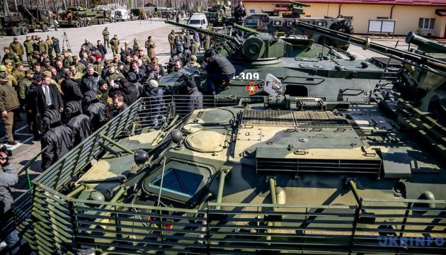 Ukraine terminates agreement with CIS on arms standards