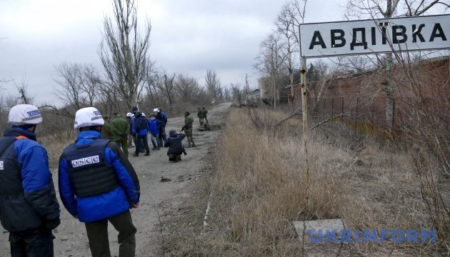 ATO HQ reports on escalation of situation near Avdiivka