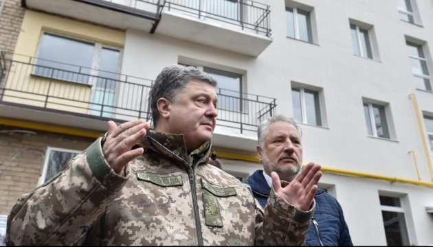 President: Donbas residents see no future in 'LPR/DPR'