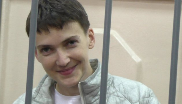 Council of Europe calls on Russia to let doctors visit Savchenko