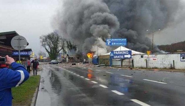 На польсько-німецькому кордоні вибухнув магазин піротехніки