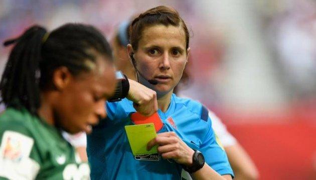 Головним арбітром матчу української Прем'єр-ліги призначили жінку