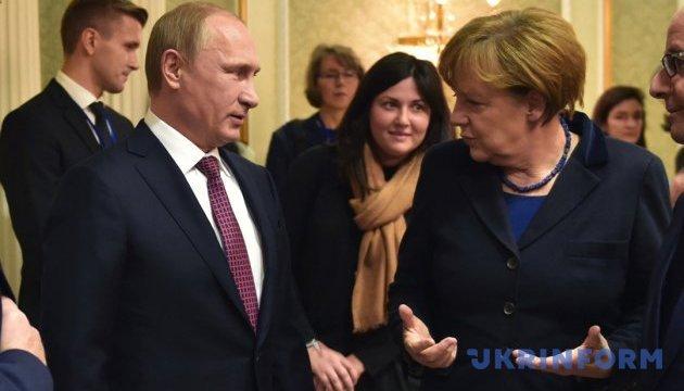 «Гібридна війна» Путіна проти Меркель