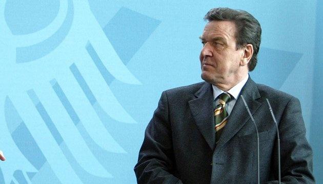 У МЗС відреагували на призначення Шредера головою ради директорів