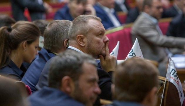 Артеменко ответил Ляшко, что не намерен сдавать мандат