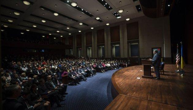 Порошенко: Врегулювання конфлікту на Донбасі можливе за президентства Обами