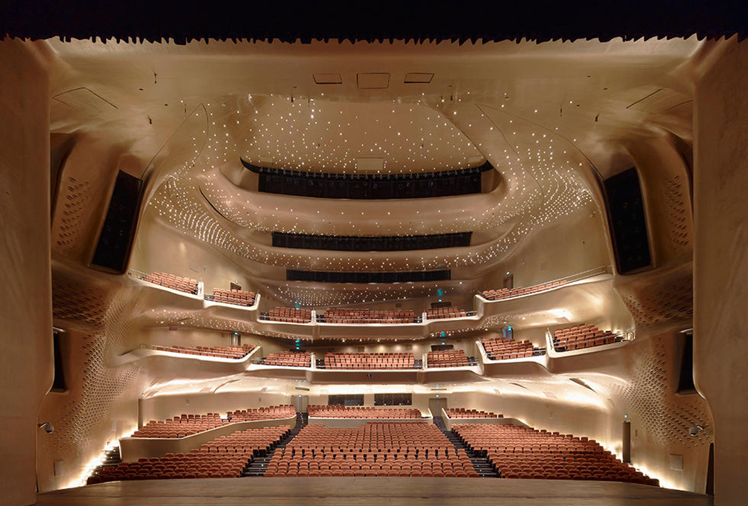 Опера у Гуанчжоу Фото: Christian Richters / VIEW / Corbis / Vida Press
