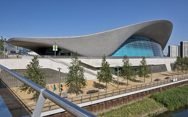 Центр водних видів спорту в Лондоні, 2011 рік Фото: VIEW / REX / Vida Press