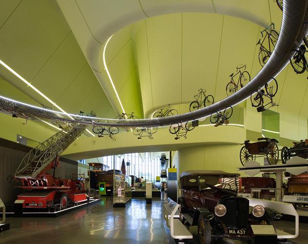 Музей транспорту в Глазго, 2011 рік Фото: James Newton / VIEW / Corbis / Vida Press