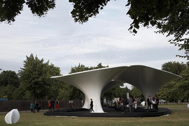 Тимчасовий павільйон Lilas галереї «Серпентайн», 2007 рік Фото: Timothy Pike / VIEW / REX / Vida Press