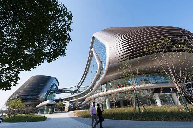 Центр Sky SOHO у Шанхаї, 2014 рік Фото: Wang Gang / Sipa Asia / ZUMA / Corbis / Vida Press