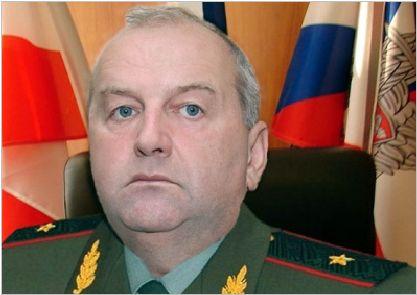 Генерал ЗС РФ С.Юдін