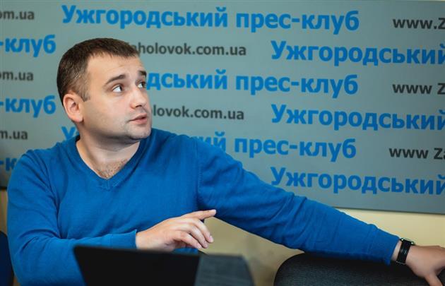 Андрій Шекета Фото: mukachevo.net