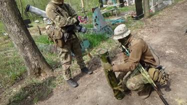 разминирование кладбища в Попасной фото: СБУ