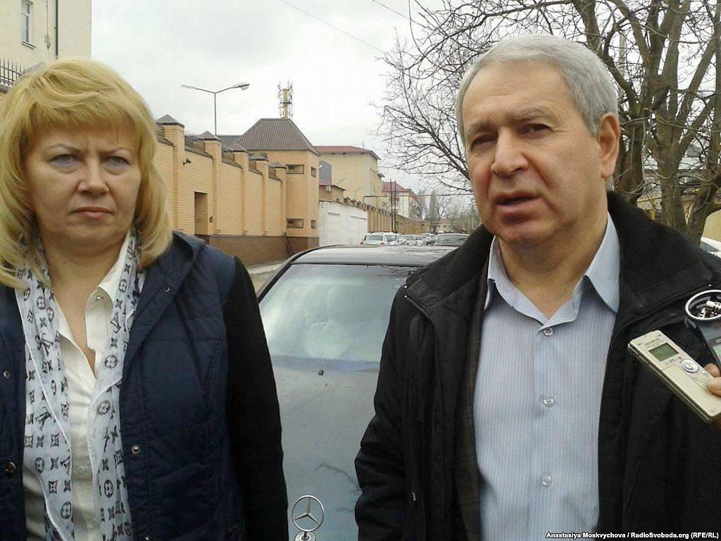 Докка Іцлаєв і Марина Дубровіна. Фото: Анастасія Москвичова/radiosvoboda.org (RFE / RL)