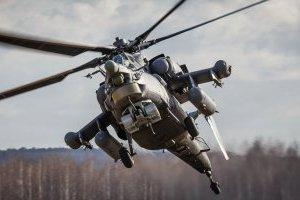 В Краснодарском крае РФ разбился военный вертолет Ми-28, экипаж погиб