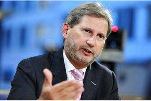 Єврокомісар Ган закликав Зеленського продовжити боротьбу з корупцією