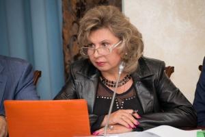 Ombudsfrau Russlands Moskalkowa auf dem Weg nach Kyjiw