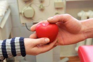 Один донор крови спасает три жизни. Инфографика