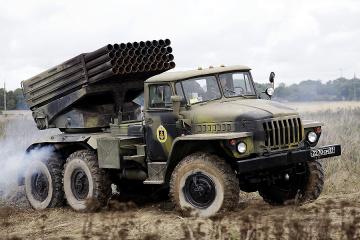 Kampfpanzer, Raketenwerfer, Haubitze: Anhäufung von schweren Waffen in der Ostukraine
