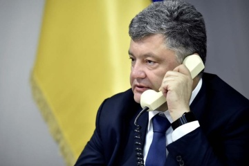 Presidential Administration: Poroshenko's telephone conversation with Putin end without any agreements