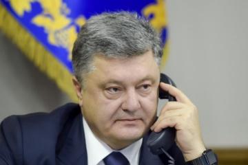 Poroschenko telefoniert mit dem moldauischen Premier