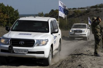 Positions in Stanytsia Luhanska continued to be dismantled on Sunday – OSCE