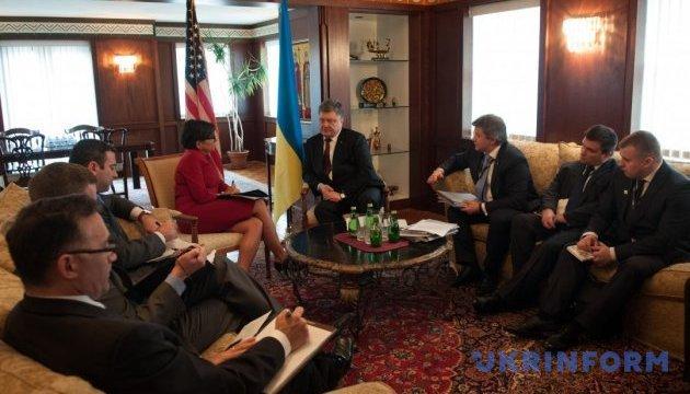 Президент Украіни зустрівся з міністром торгівлі США
