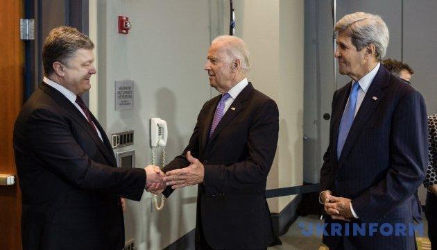 Байден: формування нового уряду України відкриє шлях до кредитних гарантій США