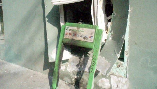Под Харьковом взорвали и ограбили банкомат