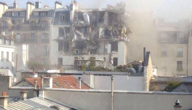 Вибух у Парижі: поранені п'ятеро людей