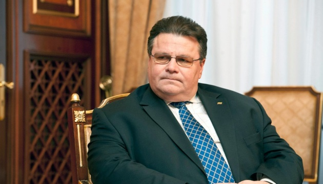 Lithuanian foreign minister urges Kyiv to keep reforms