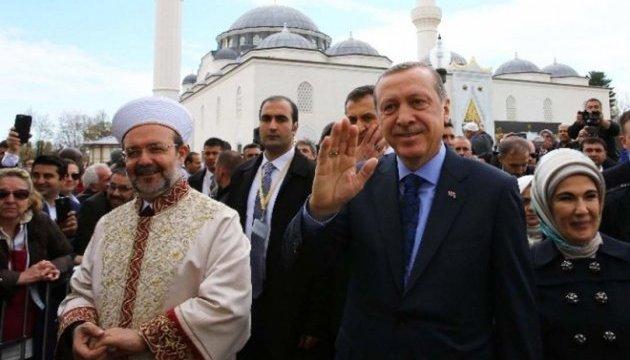 Ердоган відкрив у США мусульманський центр та розкритикував Трампа