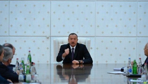 В Азербайджані скликали Раду нацбезпеки при президенті