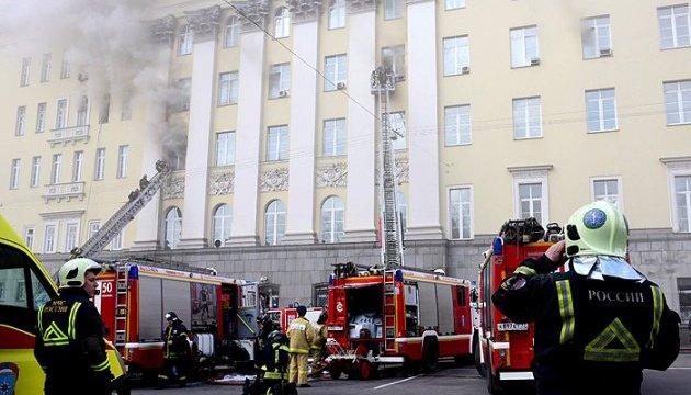 У Міноборони РФ - пожежа «найвищої категорії складності»