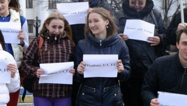 Донеччани закликали голландців підтримати Україну на референдумі