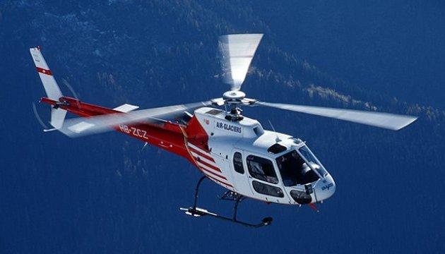 В Альпах розбився вертоліт: є загиблі та поранені