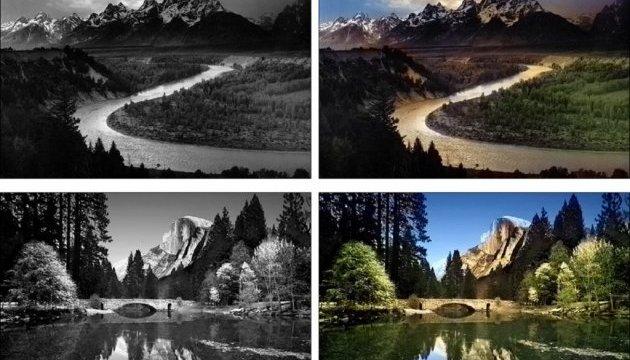 Вчені створили програму, яка перетворює чорно-білі фотографії в кольорові