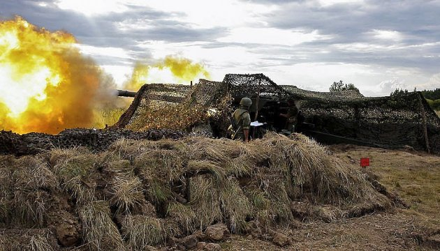 АТО: ворог бив із САУ по Новогригорівці, з БМП - по Талаківці і Водяному