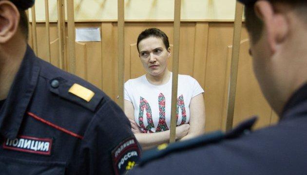 Російські тюремники заявляють, що Савченко
