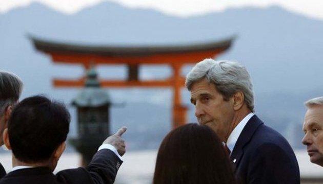 Керрі: На саміті G7 у Японії докладно обговорили ситуацію в Україні