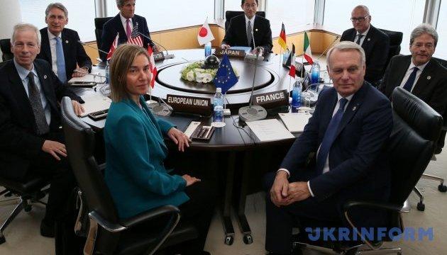 РФ порушила міжнародне право, анексувавши Крим - комюніке G7