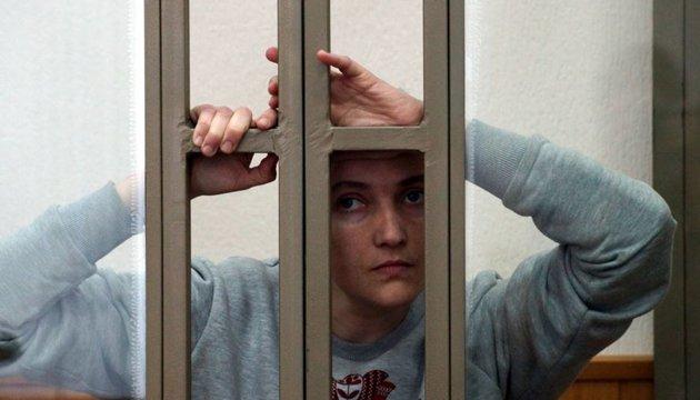US urges Russia to immediately release Nadiya Savchenko