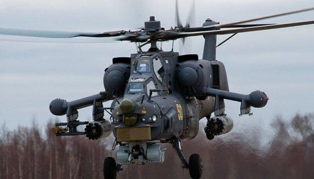 Російський військовий вертоліт розбився в Сирії